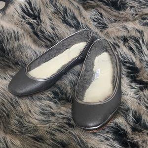 Ugg Silver Gray  Ballet Flats